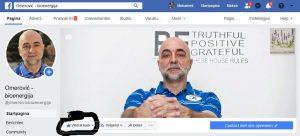 """Auf Facebook-Seite: Omerović - bioenergija klicken Sie auf """"Gefällt mir"""""""