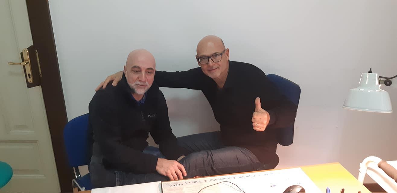 Muhamed Omerović i doktor Martinović